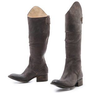 FREEBIRD by Steven Stable Tall Boots in Black